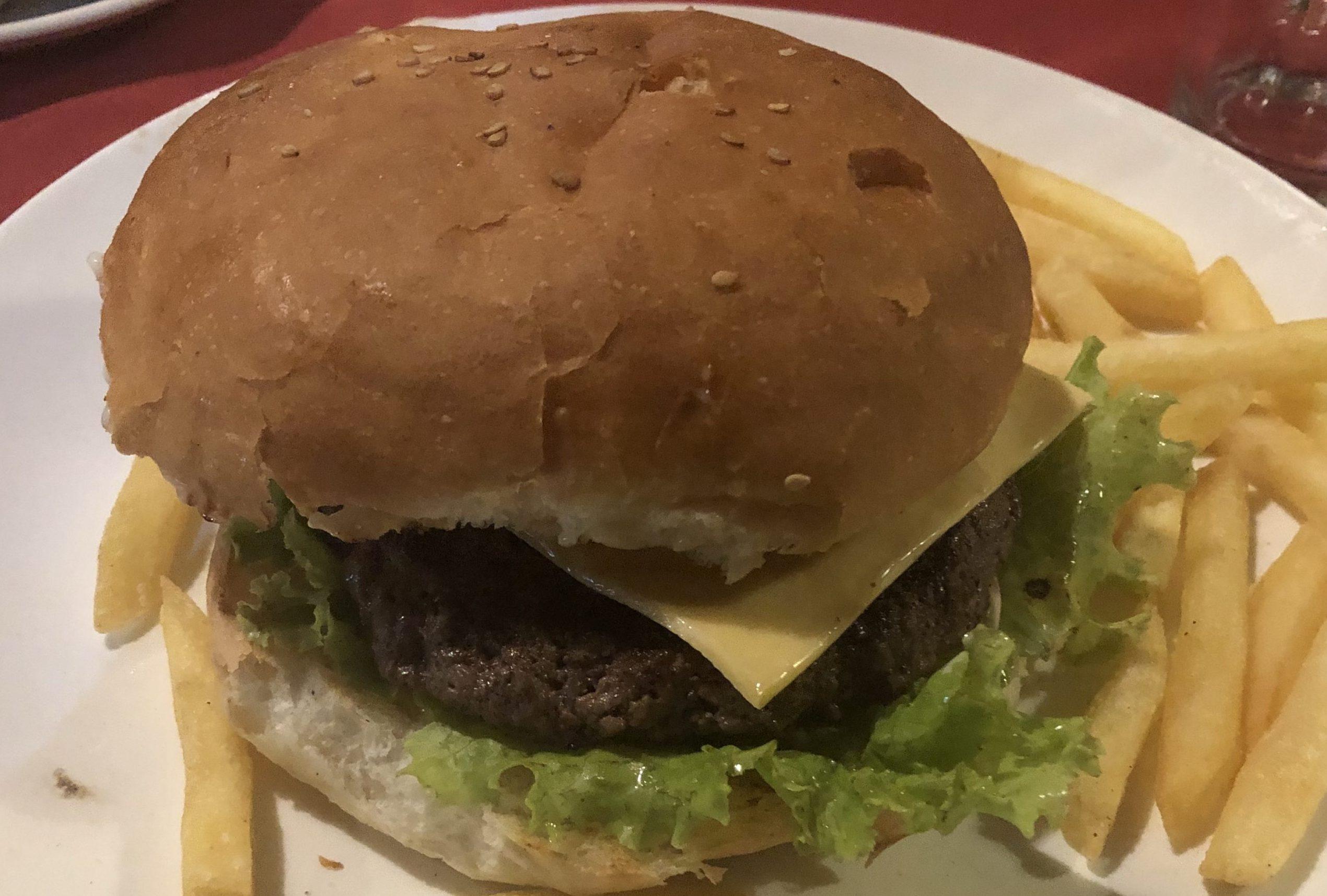 インド バンガロール ハンバーガー