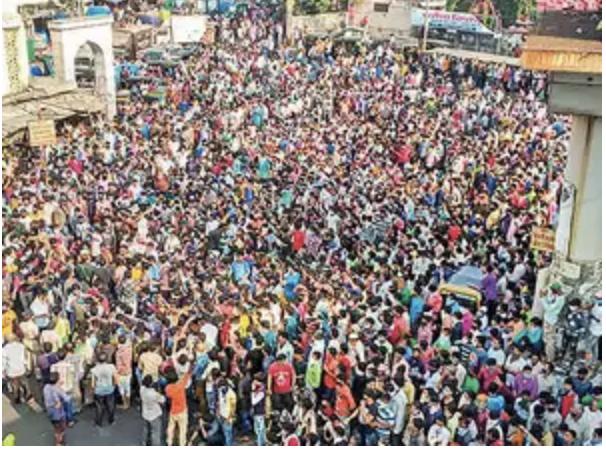 インド コロナ 暴動