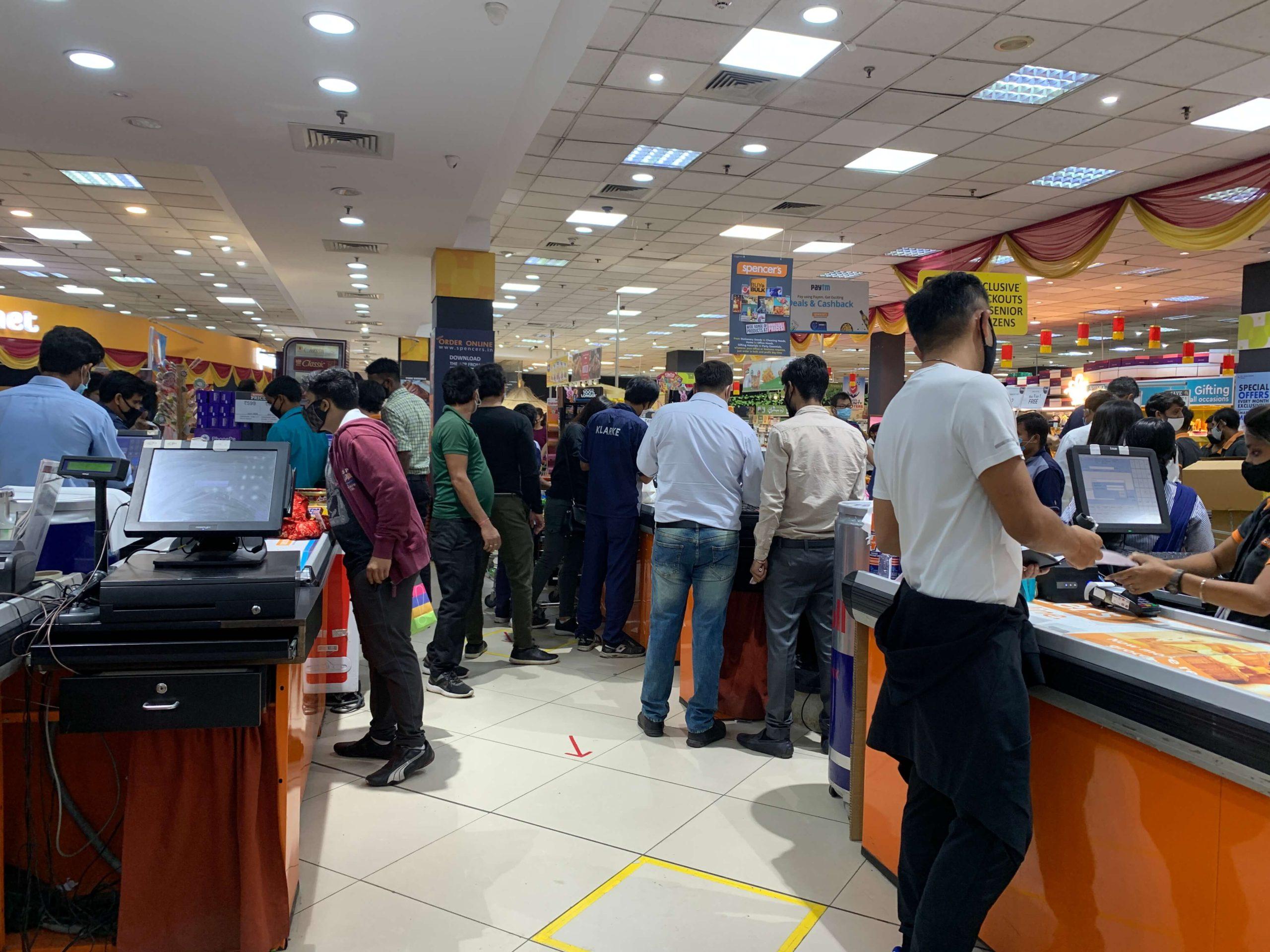 インド ディワリショッピング